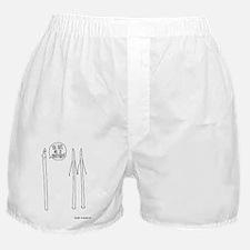 codependent mini poster Boxer Shorts