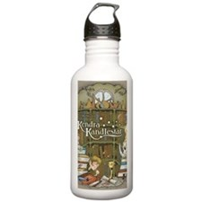 KendraLibrary_journal Water Bottle