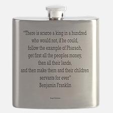 Servants Forever - Benjamin Franklin Flask