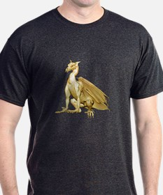 Gold Sitting Dragon T-Shirt