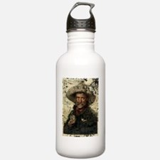 old cowboy photo Water Bottle