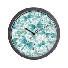 dragonflies2 Wall Clock