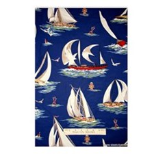 sailboat Postcards (Package of 8)