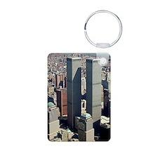 WTC-Complex-lge poster-8b5 Keychains