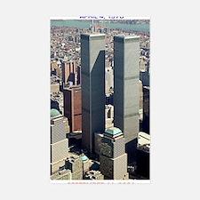 WTC-Complex-lge poster-8b5-cpJ Sticker (Rectangle)