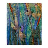 Dragonfly Fleece Blankets