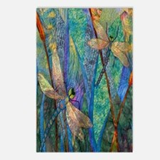 DRAGONFLIES Postcards (Package of 8)