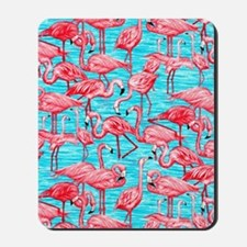 Flamingos Mousepad