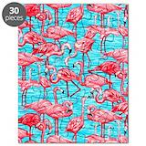 Pink flamingo Puzzles