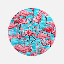 """Flamingos 3.5"""" Button"""