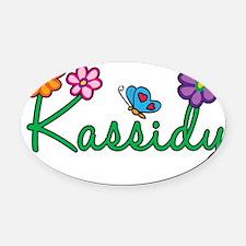 Kassidy Oval Car Magnet