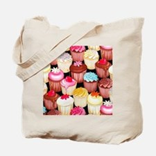 yumming cupcakes Tote Bag