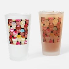 yumming cupcakes Drinking Glass