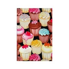 yumming cupcakes Rectangle Magnet