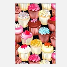 yumming cupcakes Postcards (Package of 8)
