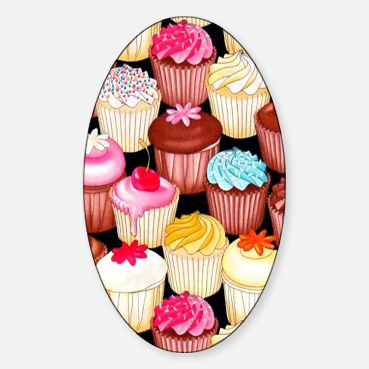 yumming cupcakes Decal