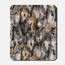 wolves Mousepad