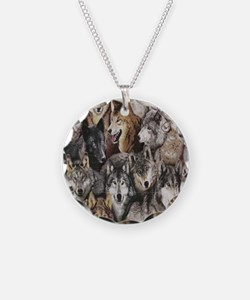 wolves Necklace