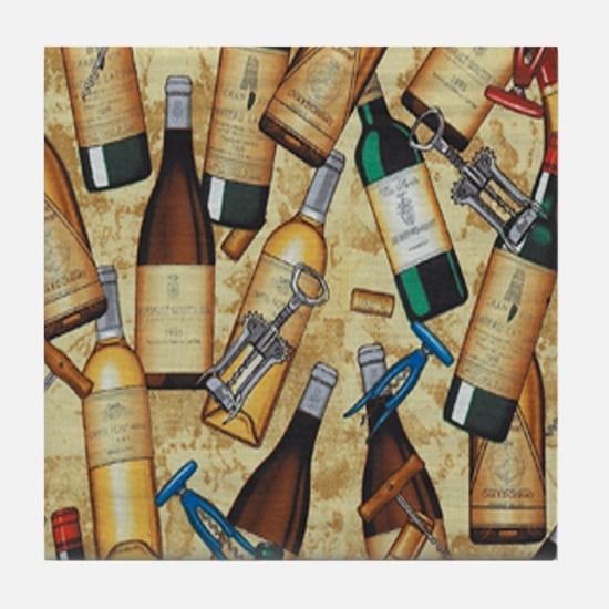wine Tile Coaster