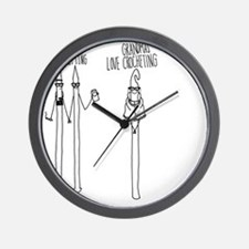 Hipsters Mouse Pad Wall Clock