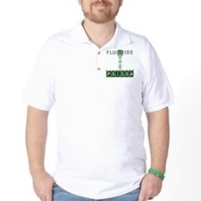 fluoridedangerwhitebg T-Shirt