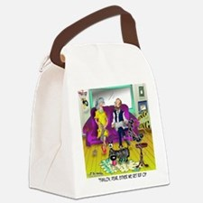 1548_dog_cartoon Canvas Lunch Bag