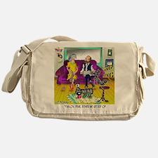 1548_dog_cartoon Messenger Bag