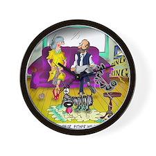 1548_dog_cartoon Wall Clock