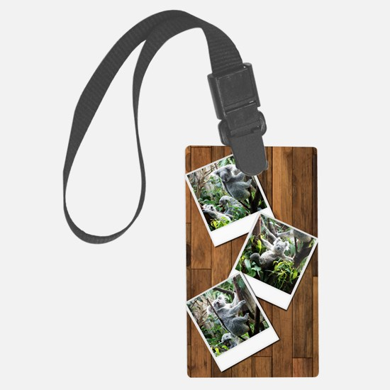personalizable instant Large Luggage Tag