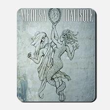 Medusa-vs-Odalisque poster Mousepad
