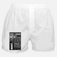 Good-looking-men-hi-res-poster Boxer Shorts