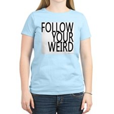 follow-your-weir-block-black T-Shirt
