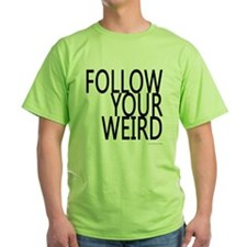 follow-your-weir-block-black T-Shirt