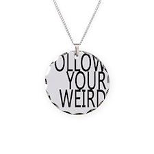 follow-your-weir-block-black Necklace