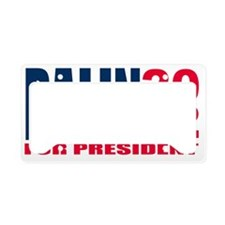 PALIN License Plate Holder
