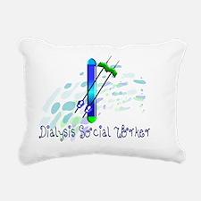 Dialysis Social Worker 2 Rectangular Canvas Pillow