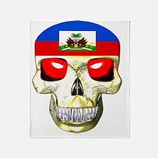 HAITISKULL Throw Blanket