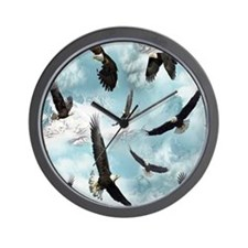 eagles1 Wall Clock