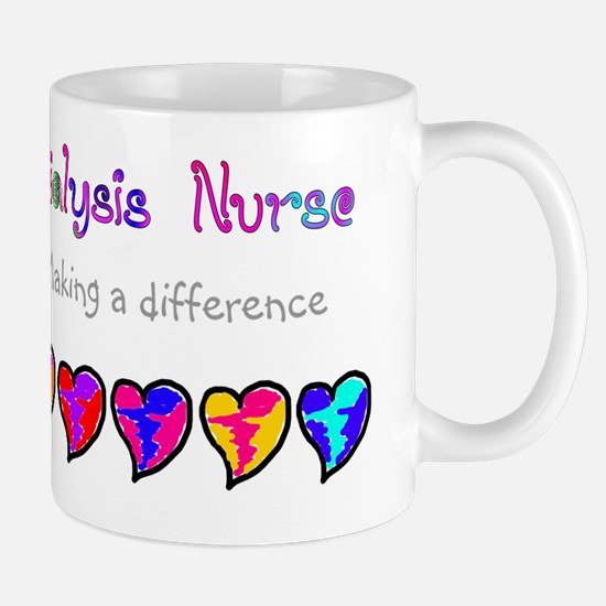 Dialysis Nurse 2011 Hearts Mug