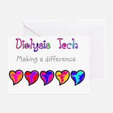 Dialysis Tech 2011 new Greeting Card
