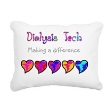 Dialysis Tech 2011 new Rectangular Canvas Pillow