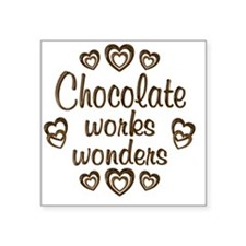 "chocolatewonder Square Sticker 3"" x 3"""