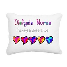 Dialysis Nurse 2011 Hear Rectangular Canvas Pillow