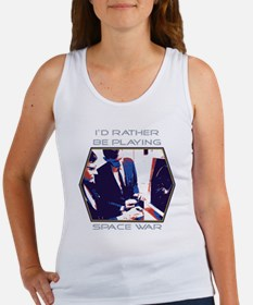 Id Rather Be Playing Space War Women's Tank Top