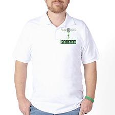 fluoridedangerblkbg T-Shirt