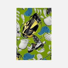 Tee Time golf bag golf clubs ipad Rectangle Magnet