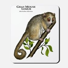 Gray Mouse Lemur Mousepad