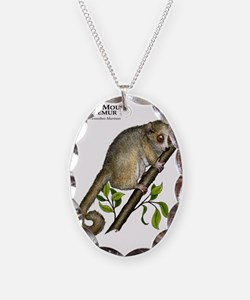 Gray Mouse Lemur Necklace