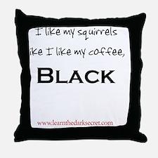 BSTcoffee Throw Pillow