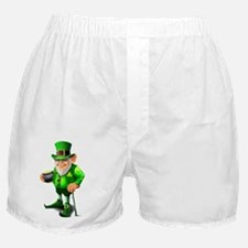 Leprechaun with pot of gold Boxer Shorts